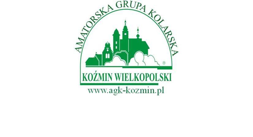 """Komunikat """"AGK Koźmin Wlkp."""" ws. Trasy XI Koźmińskiego Maratonu Rowerowego"""